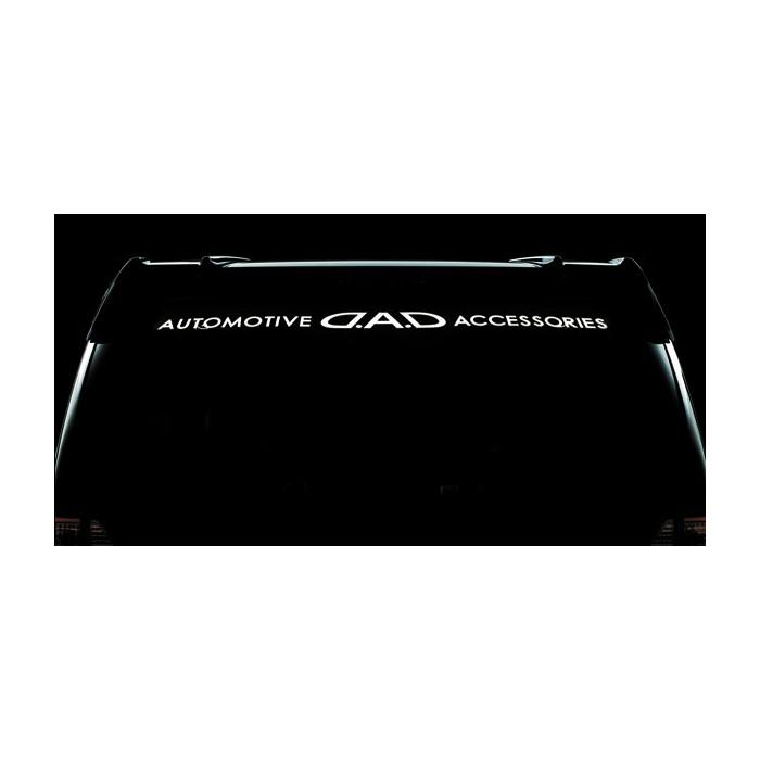 ギャルソン D.A.D ウインドウステッカー C2 ホワイト☆ ST046-10【GARSON 車用 車 自動車 カー用品 専用  通販】