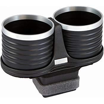 【メーカー直送品】ALCABO/アルカボ ドリンクホルダー ブラック/リング カップタイプ AL-P202BS ボクスター・718ボクスター(タイプ981) 右/左ハンドル車 灰皿ナシ車専用