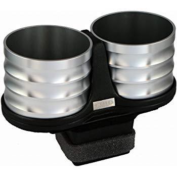 【メーカー直送品】ALCABO/アルカボ ドリンクホルダー シルバー カップ タイプ AL-P202S ボクスター・718ボクスター(タイプ981) 右/左ハンドル車 灰皿ナシ車専用