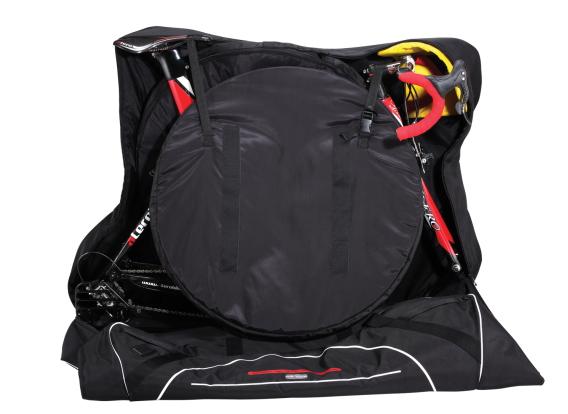 【輪行バッグ】【ホイールバッグ付】ALERO アレーロ ロードバイク用キャリーバック ホイールバック2本・キャスター付(SCICON/シーコンをお求めの方にもオススメ)