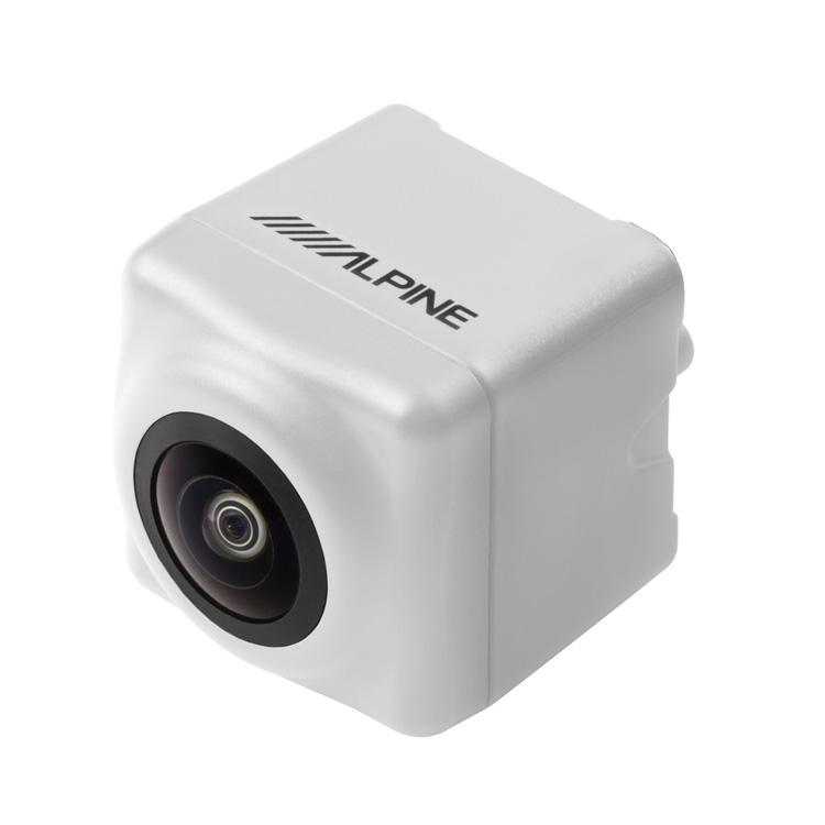ALPINE/アルパイン ハリアー専用ステアリング連動バックビューカメラ (パールホワイト) SGS-C1000D-HA-W 4958043112326