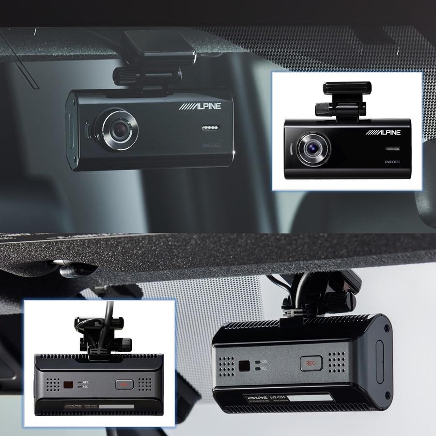 ALPINE(アルパイン) フロントカメラドライブレコーダー DVR-C02S