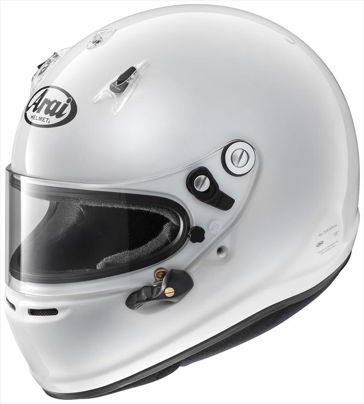アライ正規品販売店です 【送料無料】Arai/アライ 四輪用ヘルメット GP-6 8859 (57-58) 白 Super cLc構造 4530935426874