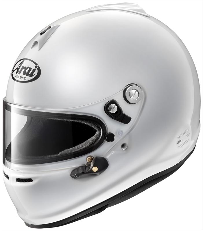 【送料無料】Arai/アライ 四輪用ヘルメット GP-6S 8859 (55-56) 白 cLc構造 4530935426911