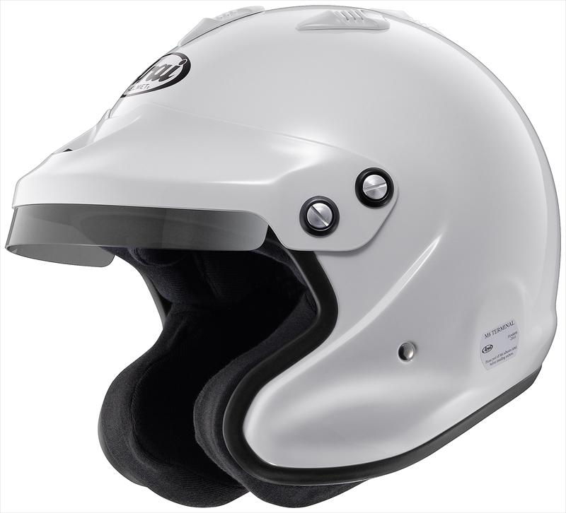 【送料無料】Arai/アライ 四輪用ヘルメット GP-J3 XO 8859 (64-65) 白 PB-cLc構造 4530935427116