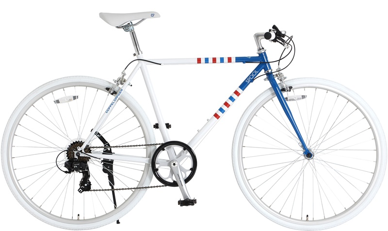 DOPPELGANGER / doppelganger 700 C bike scalpel (frame color: border) bicycle BD 4589946134377