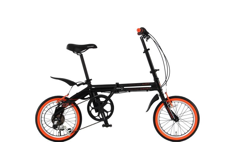 DOPPELGANGER(ドッペルギャンガー) 折りたたみ自転車 FALTRADシリーズ BLACKBULLET II 104-DP 16インチ 軽量アルミフレーム採用モデル 4582143464735
