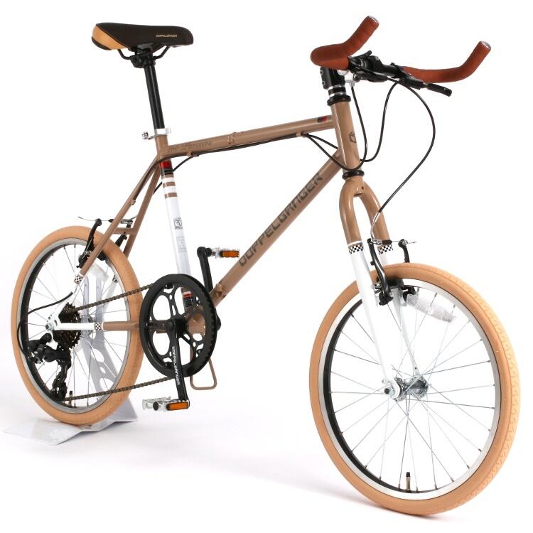 DOPPELGANGER/ドッペルギャンガー 20インチ 折りたたみ自転車 折りたたみ自転車 260 Parceiro [ブロンズグレイ/アルペンホワイト] 260-GY 送料無料(北海道・沖縄・離島除く) 4582143469273