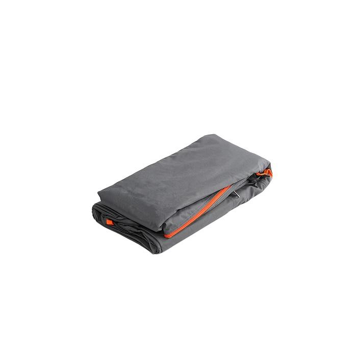 DOPPELGANGER ストレージバイクガレージ 交換カバー DCC496M-GY(グレー×オレンジ)? 4589946140453