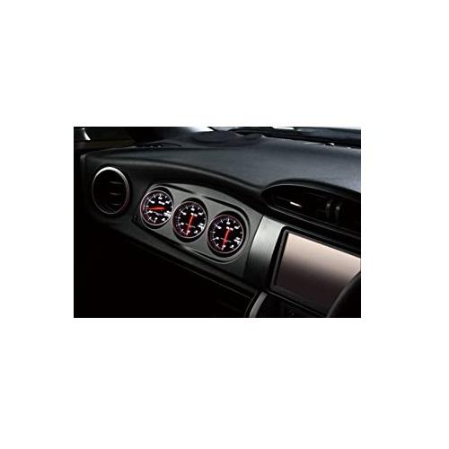 (エントリーでポイント3倍)BLITZ レーシングメーターパネル REDメーターセット BLACK スバル BRZ ZC6 年式(西暦)16/08- FA20 製品コード19175