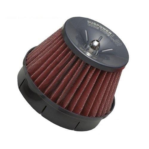 BLITZ コアタイプエアクリーナー SUS POWER LM-RED ミツビシ タウンボックス DS17W 年式(西暦)15/03- R06A(Turbo) 製品コード59238