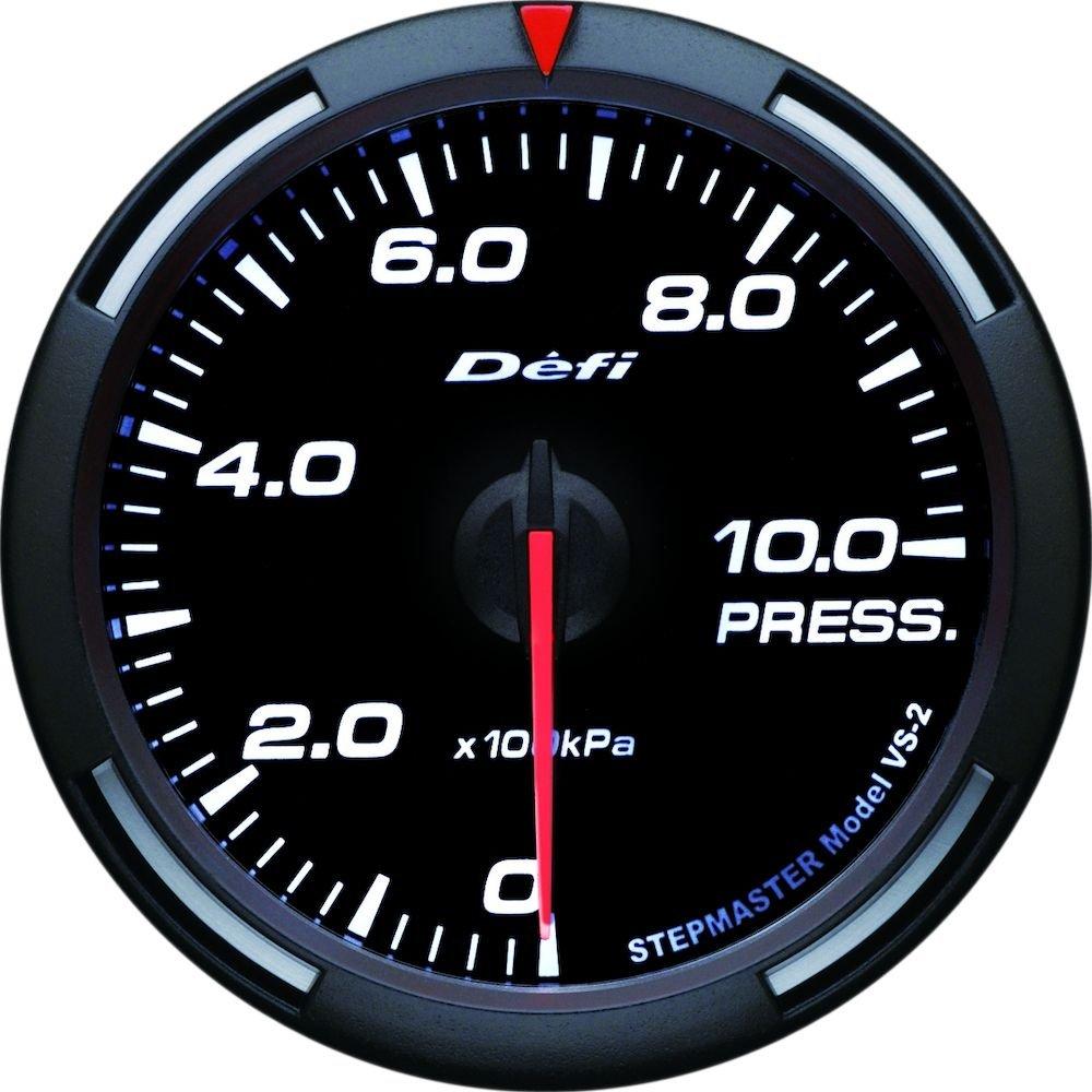 (エントリーでポイント3倍)日本精機 Defi (デフィ) メーター【Racer Gauge】60φ 圧力計 (ホワイト) DF11606