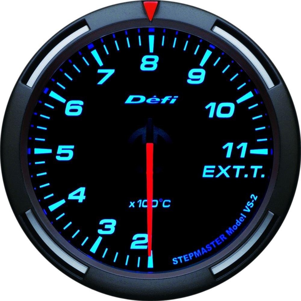 (エントリーでポイント3倍)日本精機 Defi (デフィ) メーター【Racer Gauge】60φ 排気温度計 (ブルー) DF11804