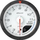 日本精機 メーター Defi-Link ADVANCE CR  排気温度計 60φ ホワイト DF09301