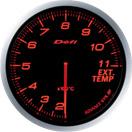 日本精機 メーター Defi-Link ADVANCE 排気温度計 アンバーレッド 税込 BF 特売 DF10602