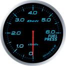 日本精機 在庫一掃 メーター Defi-Link ADVANCE 燃圧計 国際ブランド DF10303 BF ブルー