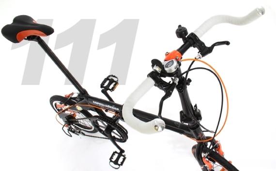 DOPPELGANGER/ドッペルギャンガー 折りたたみ自転車 111 Roadfly 送料無料(北海道・沖縄・離島除く) 4582143469099