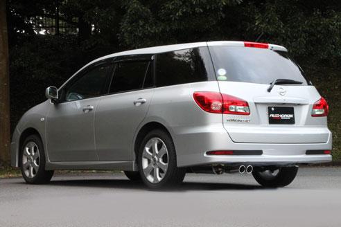 【メーカー直送品】FUJITSUBO/フジツボ マフラー AUTHORIZE S ニッサン ウイングロード 1.5 2WD エアロ DBA-Y12 H22.04~ 350-11533