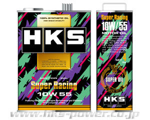HKS スーパーレーシング オイル 100% SYNTHETIC 10W-55相当 52001-AK088