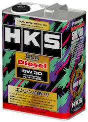 HKS スーパーオイル プレミアム ディーゼル 5W-30 4L 52001-AK117 3缶セット 4957266455661