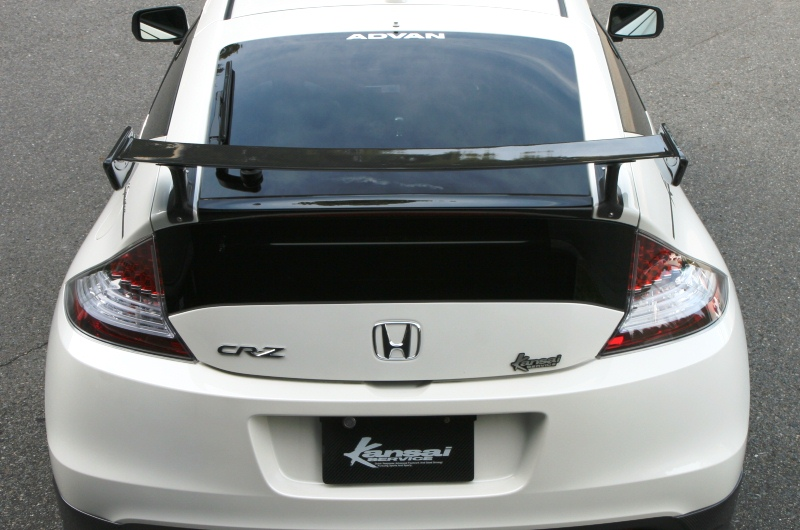 Kansai Service Car Bonn Rear Wing Type 2 Honda Cr Z Zf1 Kah008