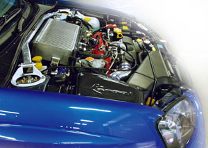 Kansaiサービス レーシングサクション+06モデルエアダクトセット KPF021 インプレッサ GDB A・B型