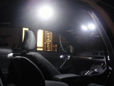 Junack/ジュナック LEDルームランプKIT レクサス CT200h LRK1