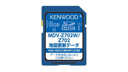 ケンウッド KENWOOD KNA-MD1618B 地図更新SDカード KNA-MD1617B後継モデル