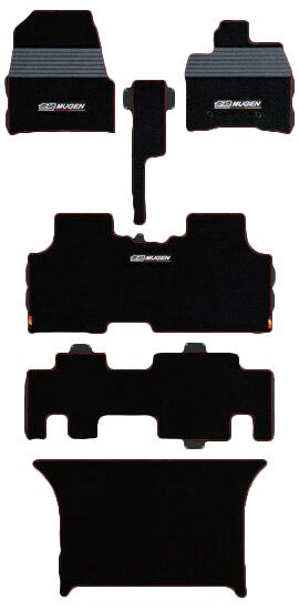 【メーカー直送品】無限 スポーツマット RK1・3 タンブルシート用 ブラック STEPWGN 1204~ 08P15-XLSB-K0S0-BK 4527377204412