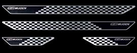 無限 スカッフプレート GP5/GK3・4・5・6 ブラック GRACE 1412~ 84200-XMK-K0S0-BK 4527377222164