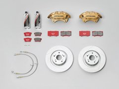 【メーカー直送品】無限 ブレーキシステム ゴールド TypeC インテグラ DC5 45000-XK5-K1S0-GL