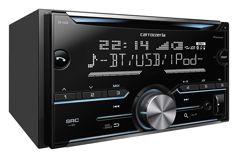 パイオニア CD/Bluetooth/USB/チューナー・DSPメインユニット FH-4400 4988028369384