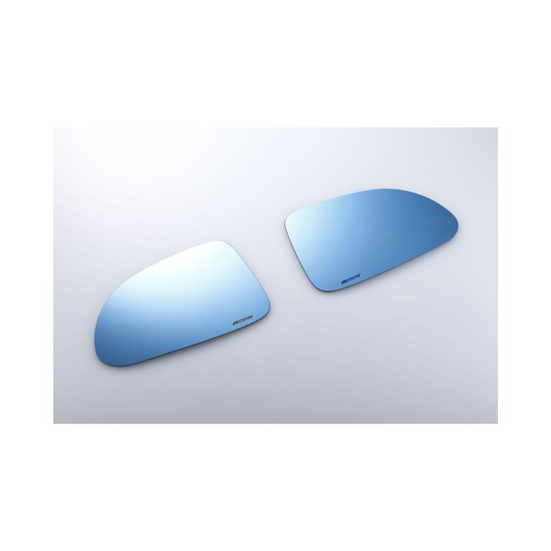 【メーカー直送品】SPOON ブルーワイドドアミラー 76203-AP1-030 HONDA S2000 AP1/AP2