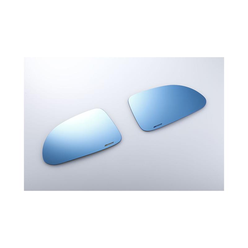 【メーカー直送品】SPOON ブルーワイドドアミラー 76203-EK9-030 HONDA シビック EK4