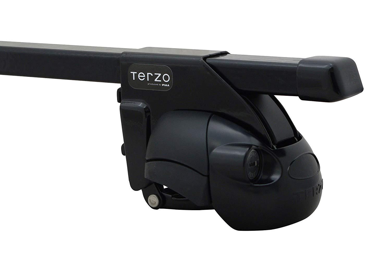 TERZO テルッツォ ベースキャリア1台分SET トヨタ ランドクルーザープラド GRJ.TRJ15 日本未発売 ルーフレール無車 フット:EF37+バー:EB2+取付ホルダー:EH373 H21.9- 爆売りセール開催中