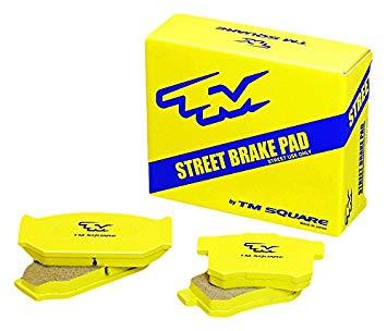 【メーカー直送品】ミノルインターナショナル TM SQUARE SUZUKI スイフトスポーツ ZC33S TMストリート ブレーキ パッド/リア TMBP-ZC301R2 摩材 TM-01R