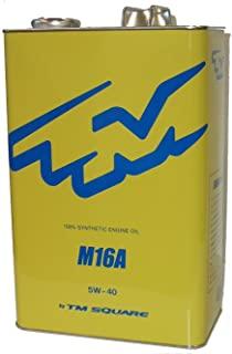 【メーカー直送品】ミノルインターナショナル TM SQUARE SUZUKI スイフトスポーツ M16Aエンジンオイル 4.5L TMOL-V02901