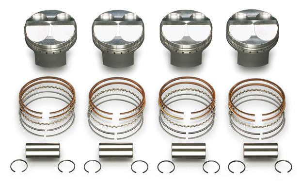 戸田レーシング HONDA シビック、インテグラ、アコード K20Aハイコンプ鍛造ピストンKIT 直径86.50×86.0mm 13020-K20-001
