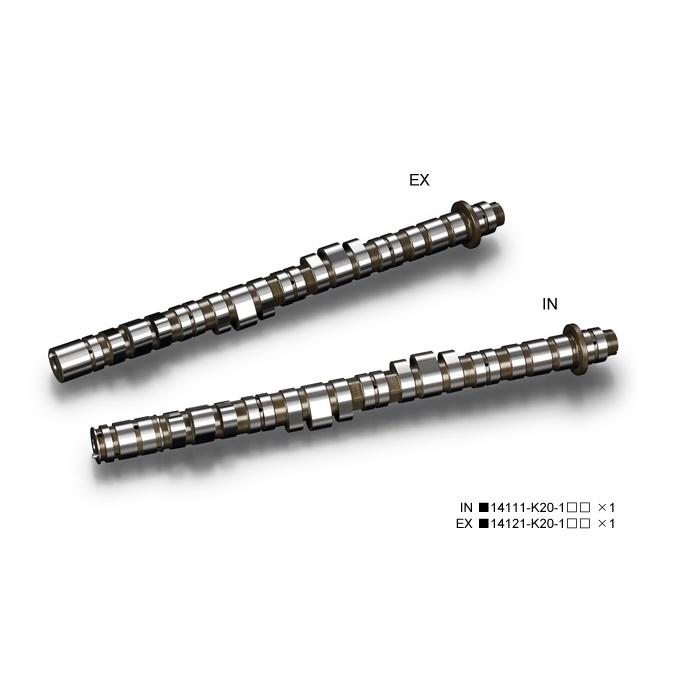 戸田レーシング HONDA シビック、インテグラ、アコード K20A VTECキラー ハイパワープロフィールカムシャフト/EX 14121-K20-130