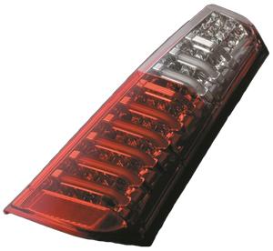 VALENTI ヴァレンティ LEDテール ハーフレッド/クローム MH34ワゴンR TS34WGR-HC-1 4580277381843