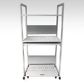 送料無料 サーバー ラック デスク PC セイテック スライド棚90 サーバーラック90 キーボード用スライド棚