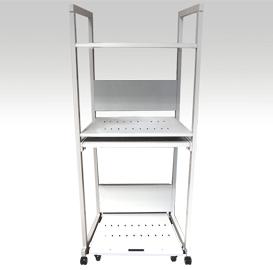 送料無料 サーバー ラック デスク PC セイテック スライド棚60 サーバーラック60 キーボード用スライド棚