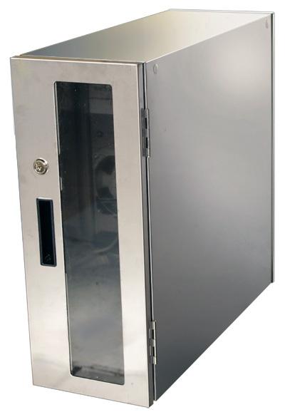 送料無料 防塵ラック PCケース ホコリ 排熱 盗難防止 工場使用可 セイテック Tidy Box CPU 3WP