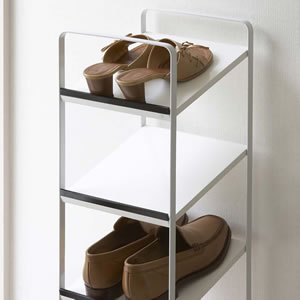 Wonderful Shoe Rack Tower Tower / Shoe Storage Rack Slim And Narrow Hallway YAMAZAKI  Yamazaki Businessman