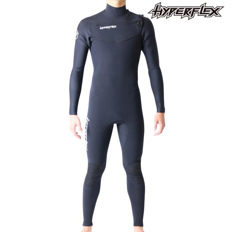 ハイパーフレックス ウェットスーツ メンズ 3×2mm チェストジップ フルスーツ ウエットスーツ サーフィンウェットスーツ Hyperflex Wetsuits