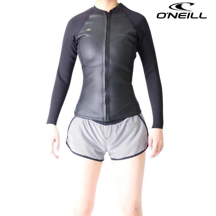オニール ウェットスーツ レディース 長袖タッパ 長袖ジャケット ウエットスーツ BAHIAモデル サーフィンウェットスーツ O'neill Wetsuits