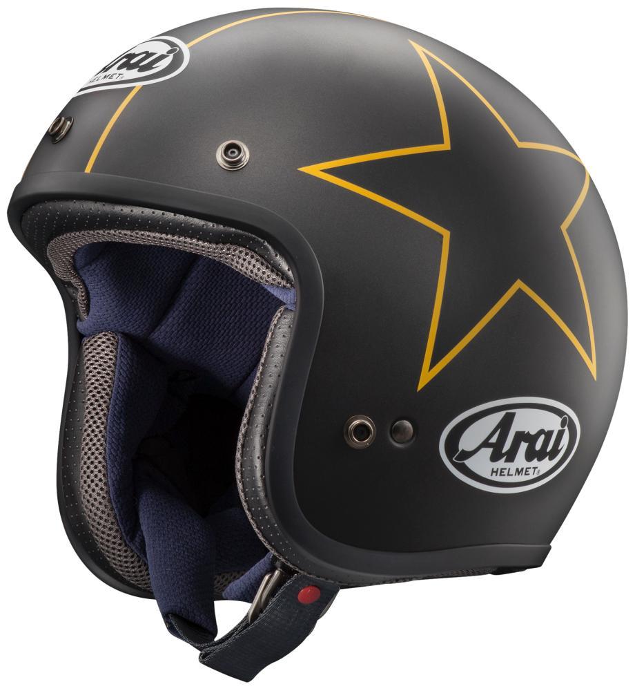 Classic MOD(クラシック・モッド) スターズ(つや消し) 55~56cm ジェットヘルメット ARAI(アライ)