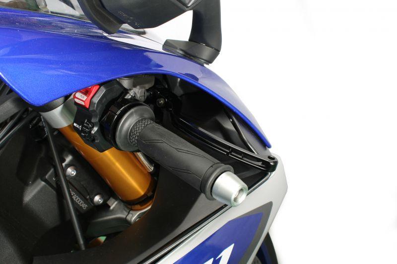 YZF-R1(ABS)/R1M(15~16年) ビレットレバー RS2タイプ ブレーキ ブラック ACTIVE(アクティブ)