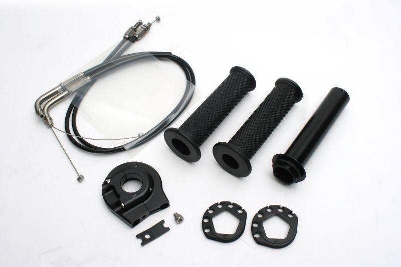 CBR1000RR/(ABS)04~12年 ハイスロットルキット (EVO2) ブラック 巻取φ38/40 ACTIVE(アクティブ)
