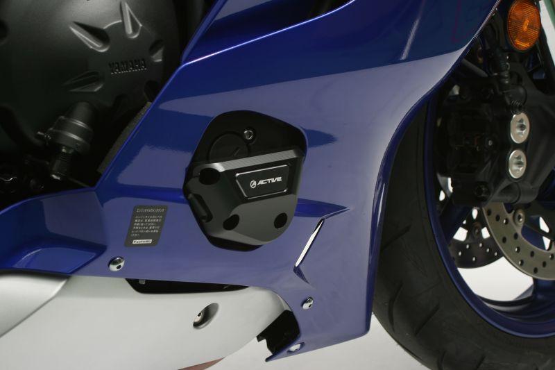 YZF-R6(17年) エンジンカバースライダー 左右セット ACTIVE(アクティブ)